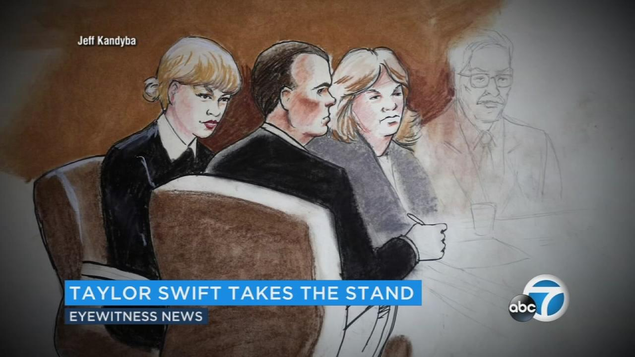 Despite being stunned, Swift said she did not say anything to David Mueller about it because she did not want other fans lined up to hear anything and she did not want to cancel the event and disappoint them.