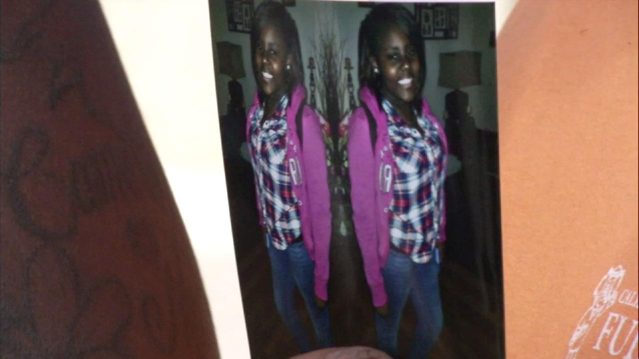 Makiya Walls, 12, is shown in an undated photo.