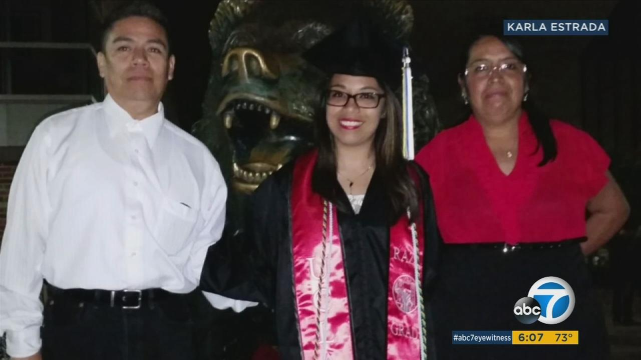 DACA recipient, 26-year-old Karla Estrada, defies odds and graduates from UCLA.