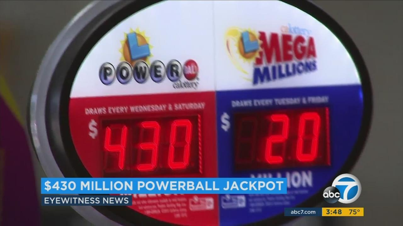 Winning numbers announced for Powerball's Wednesday jackpot