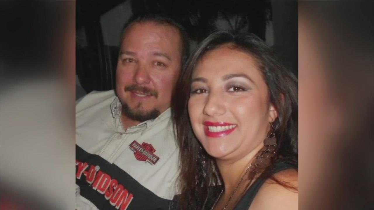 Eric and Karina Gonzalez are shown in an undated photo.