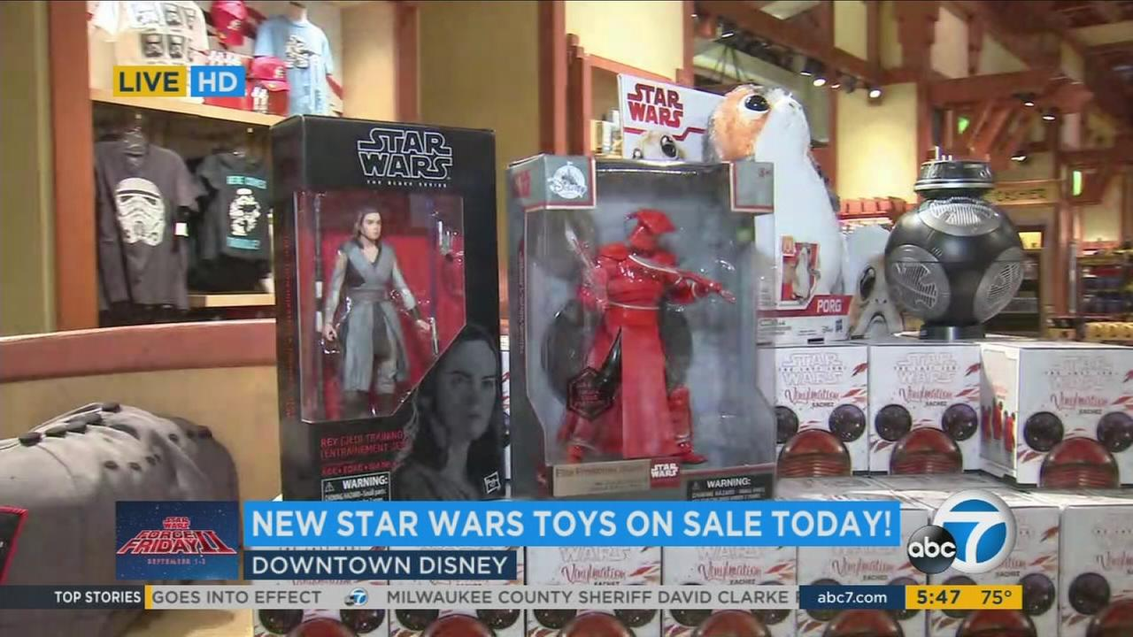 Star Wars fans around the world were marking Force Friday II on Sept. 1 as anticipation continued to build for the new movie The Last Jedi.