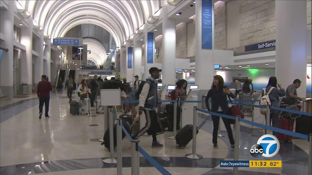 As Hurricane Irma continued to make its way toward South Florida on Wednesday, the number of airline flight cancellations was likely to rise - a development that was affecting some travelers at LAX.