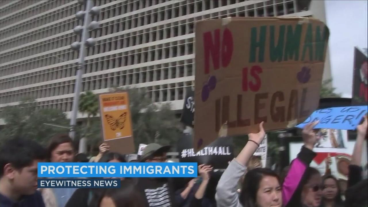Los Angeles city leaders are taking steps to protect immigrants in the wake of President Donald Trumps decision to rescind DACA.
