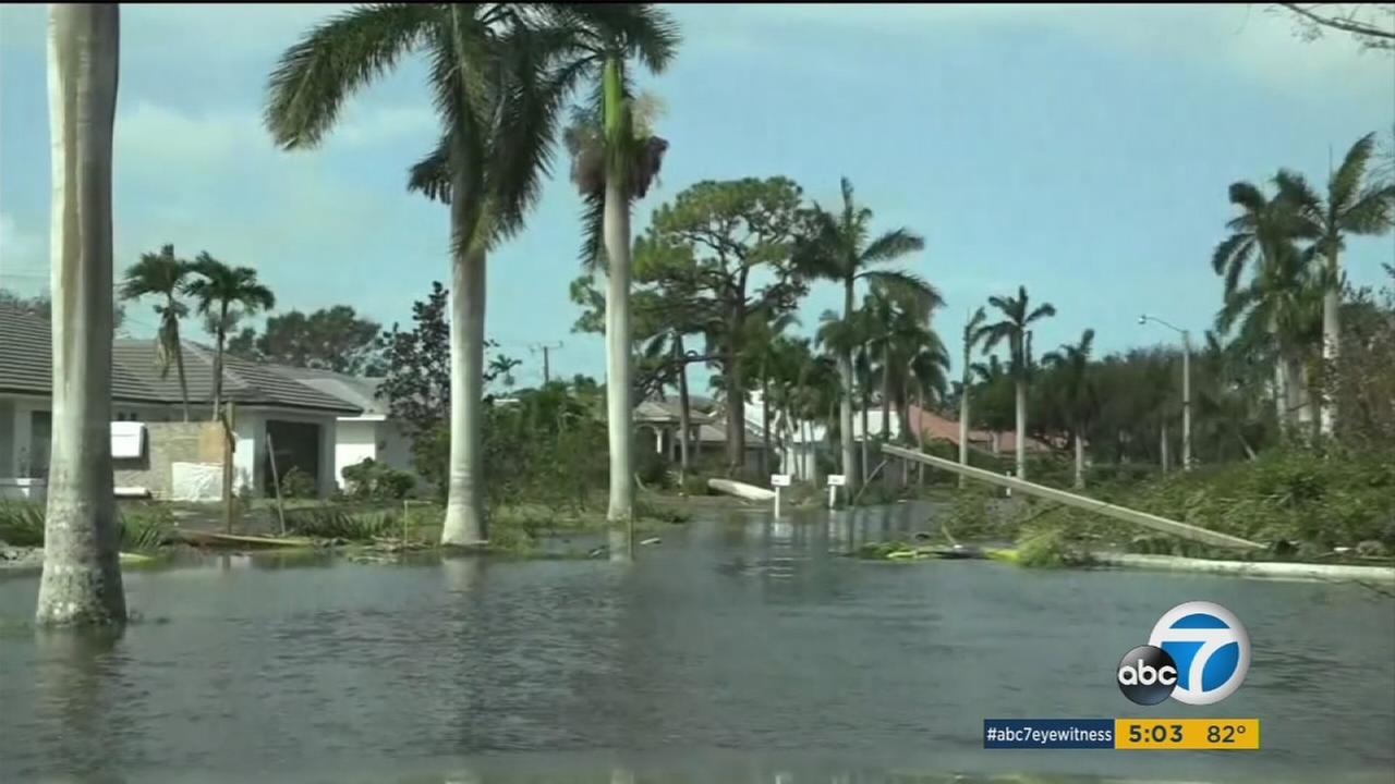 Scenes of flooding and devastation were visible throughout Florida in the wake of Hurricane Irma.