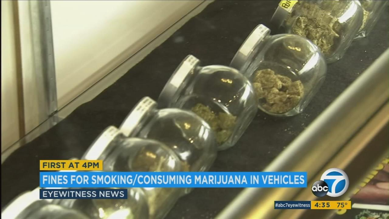 If youre caught smoking pot in a car when Californias new marijuana regulations kick in in next year, you could pay the price.