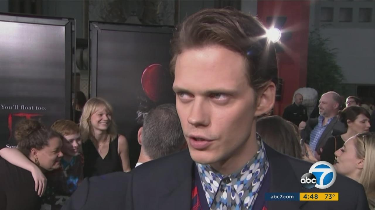 It star Bill Skarsgard says letting go of his creepy character Pennywise was an emotional experience, but hes ready to dive into the next chapter.
