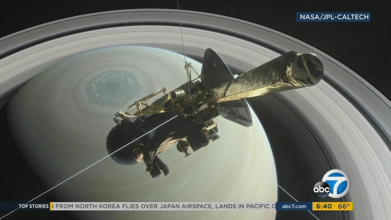 NASAs Cassini spacecraft disintegrated in the skies above Saturn early Friday in a final, fateful blaze of cosmic glory, following a remarkable journey of 20 years.