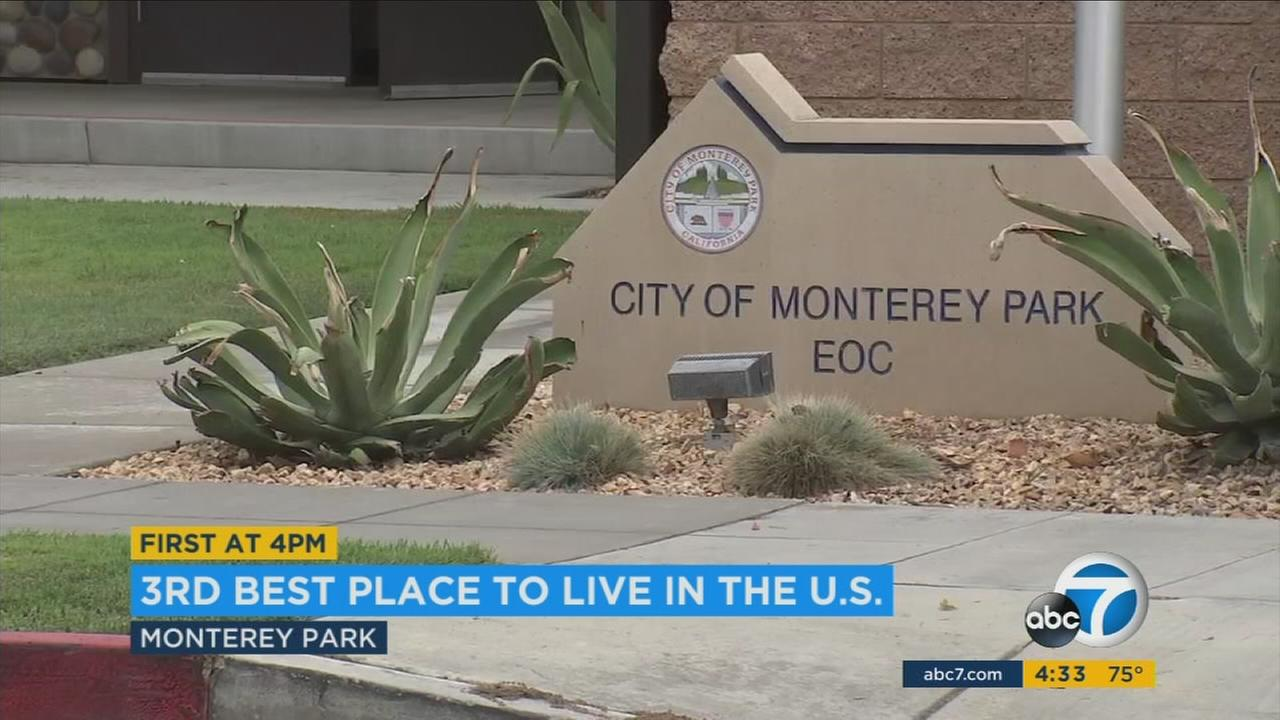 The city of Monterey Park has a reason to brag because its been named one of the best places to live in America.