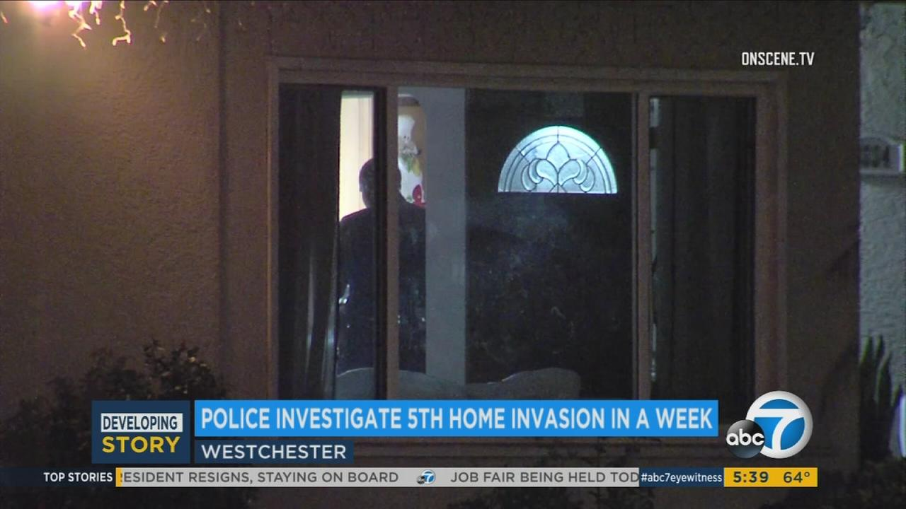 This home in Westchester was targeted by armed men who stole property from the residents on Tuesday, Sept. 19, 2017.