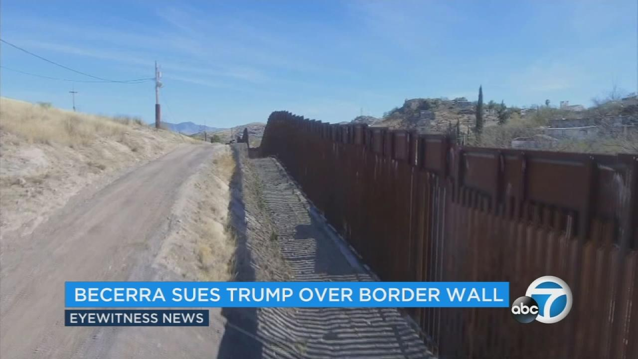 Californias attorney general announced a lawsuit he plans to file against the Trump administration over the border wall.