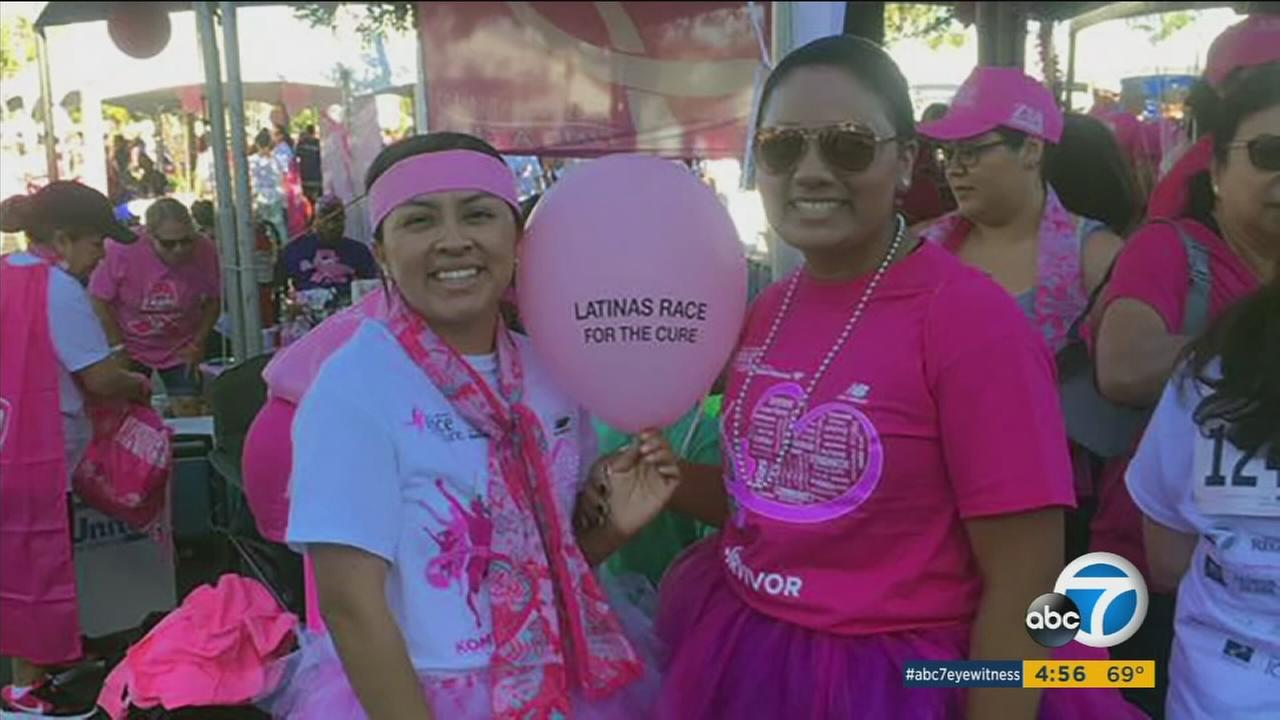 The Susan G Komen-Orange County Race For the Cure is Sunday in Newport Beach, and among the attendees is a young breast cancer patient who wasnt insured when she was diagnosed.