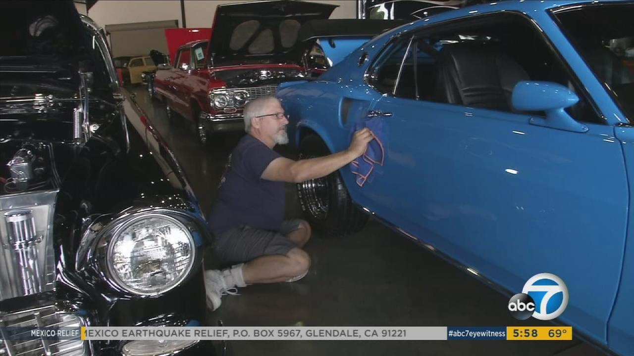 The cruising part of Cruisin For A Cure was obvious all day Saturday. Custom and classic cars were cruising around the Orange County Fairgrounds. The cure refers to preventing and curing prostate cancer, which can affect men as they age.