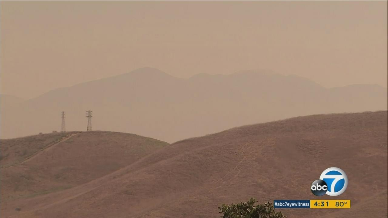 Canyon Fire Creating Unhealthy Air In 4 Socal Counties
