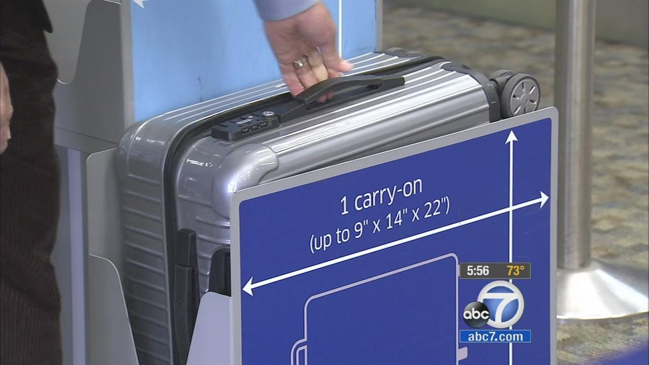 Carry-on luggage sizes confuse travelers | abc7.com