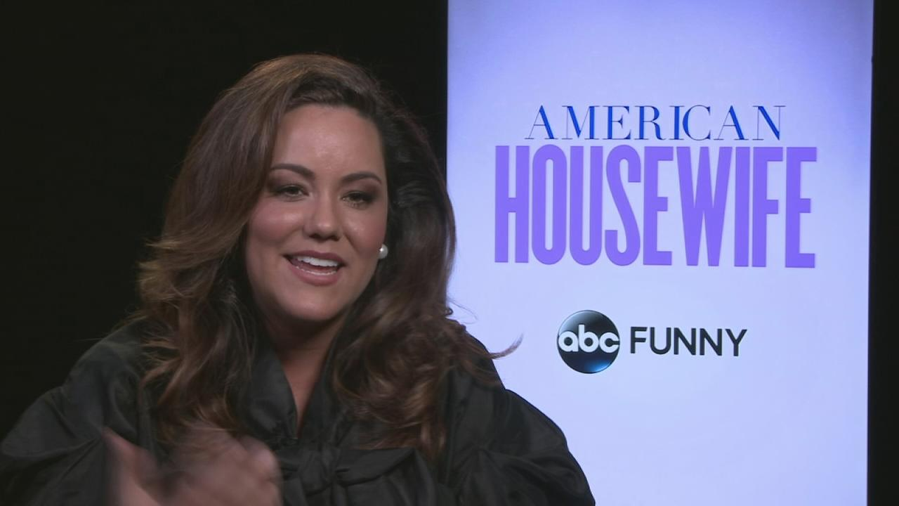 Art imitates life for actress Katy Mixon who plays a mom and spouse on American Housewife.