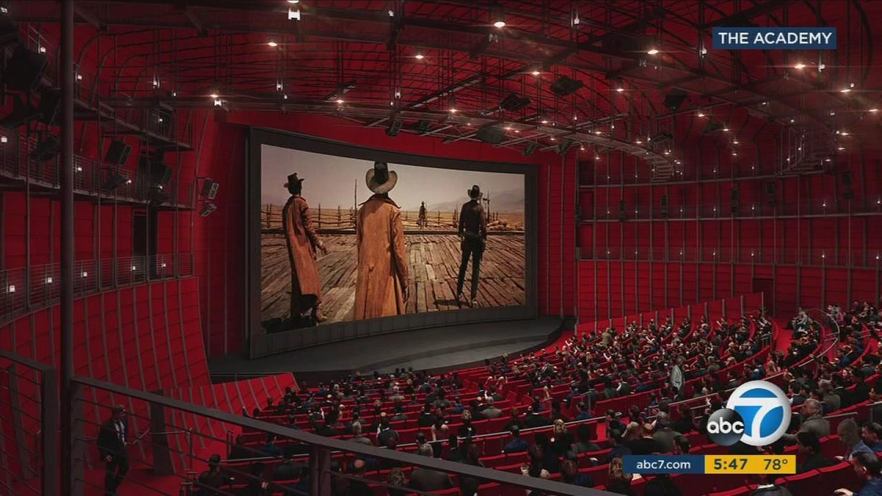 The planned Motion Picture Academy Museum, now under construction on Miracle Mile, will celebrate the film industry.