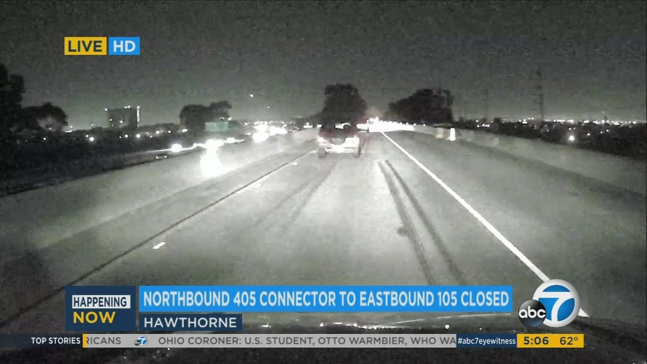 Traffic around Los Angeles International Airport in Hawthorne will be more congested for the next several months starting Thursday morning due to a Caltrans repair project.
