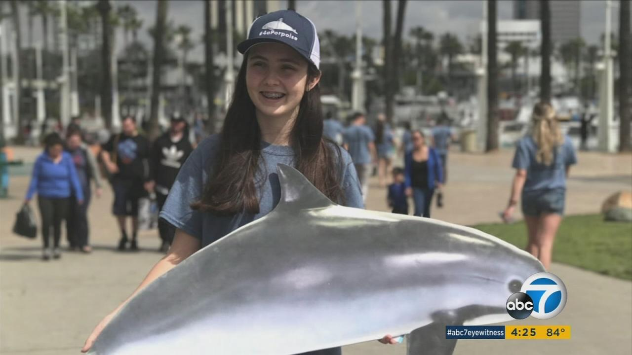 You may have seen Hannah Rutten at the Aquarium of the Pacific in Long Beach, where she volunteers once a week and helps run the touch tanks.