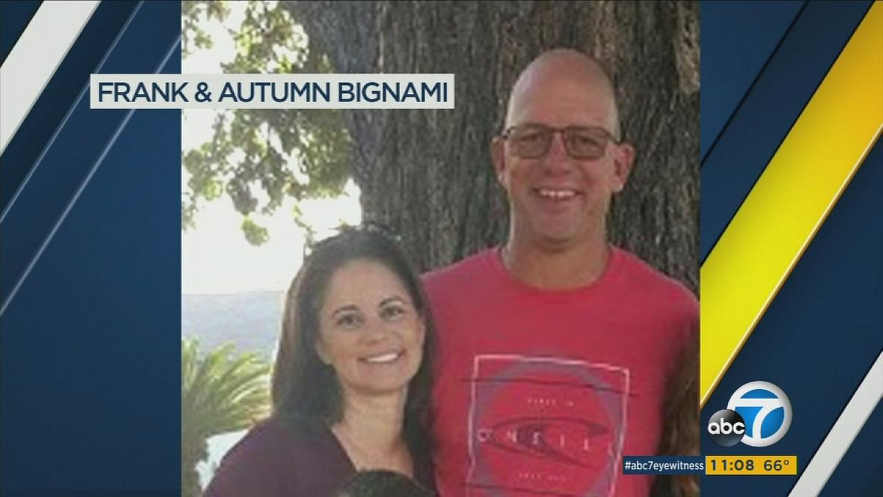 Frank and Autumn Bignami, faculty members at Paramount High School, were both wounded in the Las Vegas mass shooting.
