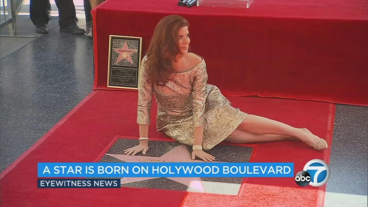 Shes the star of Will and Grace, and now Debra Messing has her own star on the Hollywood Walk of Fame.