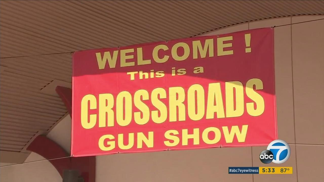 Preparations are underway for Californias largest gun show, just days after the shooting massacre in Las Vegas that claimed 58 lives.