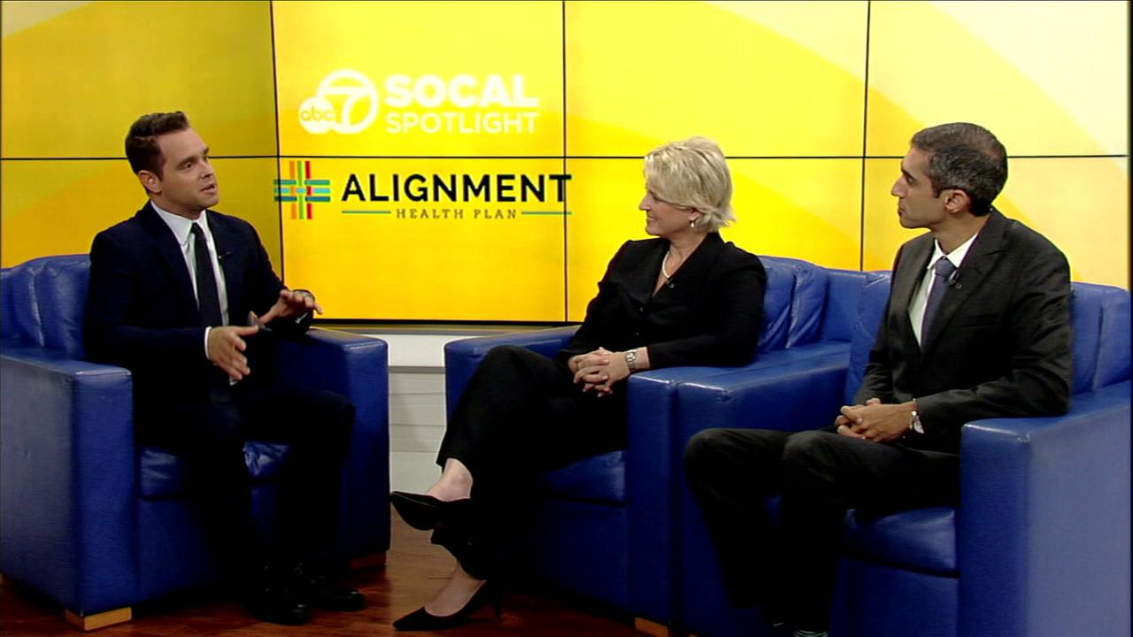 SoCal Spotlight host Karl Schmid sat down with representatives from Alignment Healthcare to discuss options for healthy aging and Medicare open enrollment.