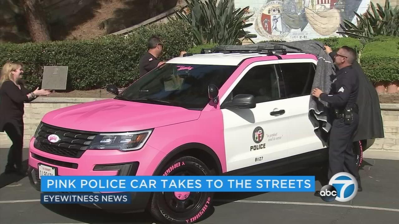 LAPD blue just went pink.