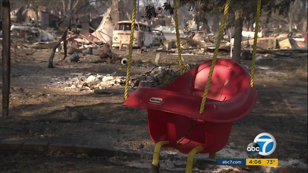 The number of homes and businesses destroyed in the blazes has risen to 5,700. At least 90,000 people have been displaced.