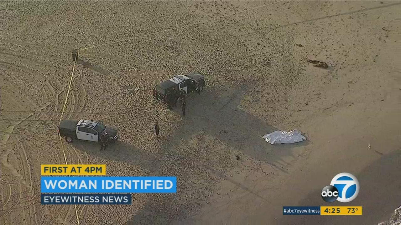 A body that washed ashore on Venice Beach Thursday as been identified as a 48-year-old woman.