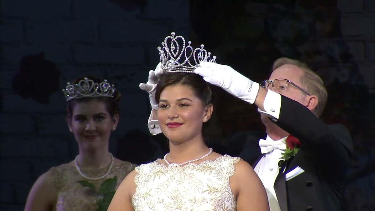 La Salle High School senior Isabella Marez has been crowned the 2018 Rose Queen.