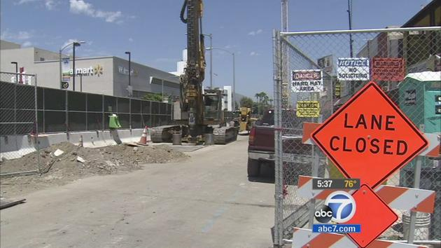 Metro Crenshaw/LAX construction hurting local businesses