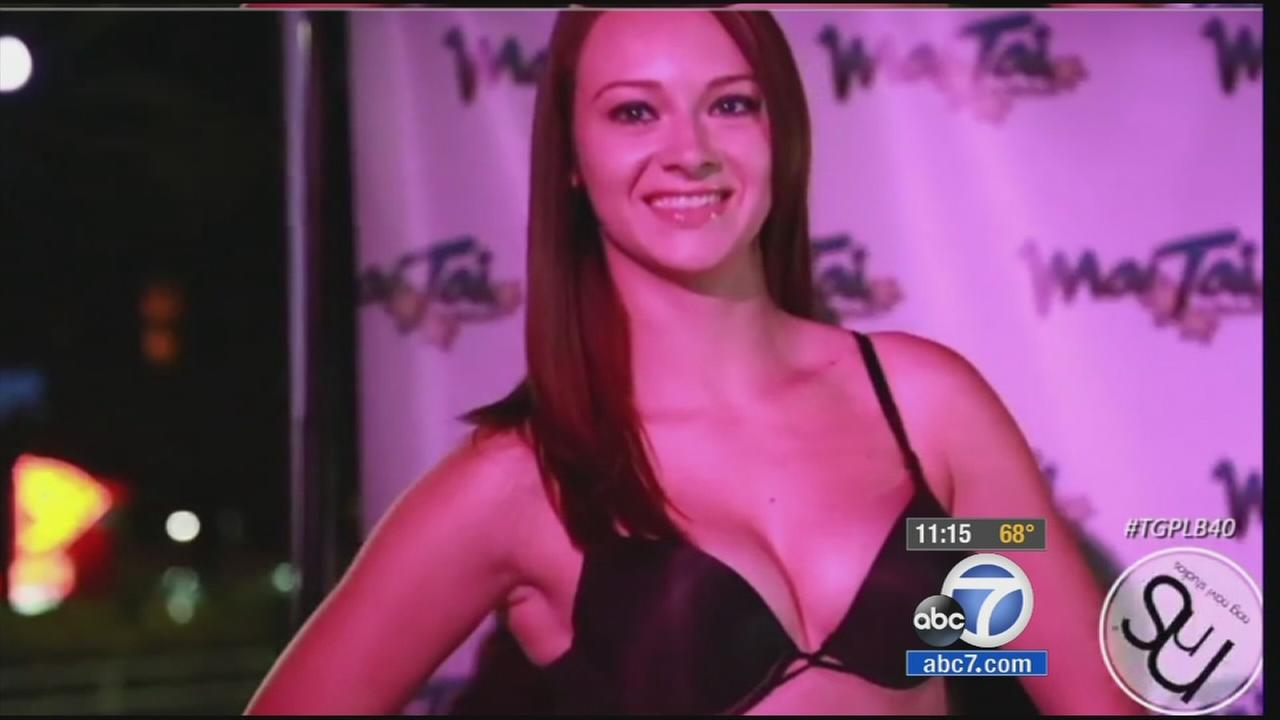 Shawna Lynn Palmer, 22, is shown strutting in a beauty pageant in this undated file photo.