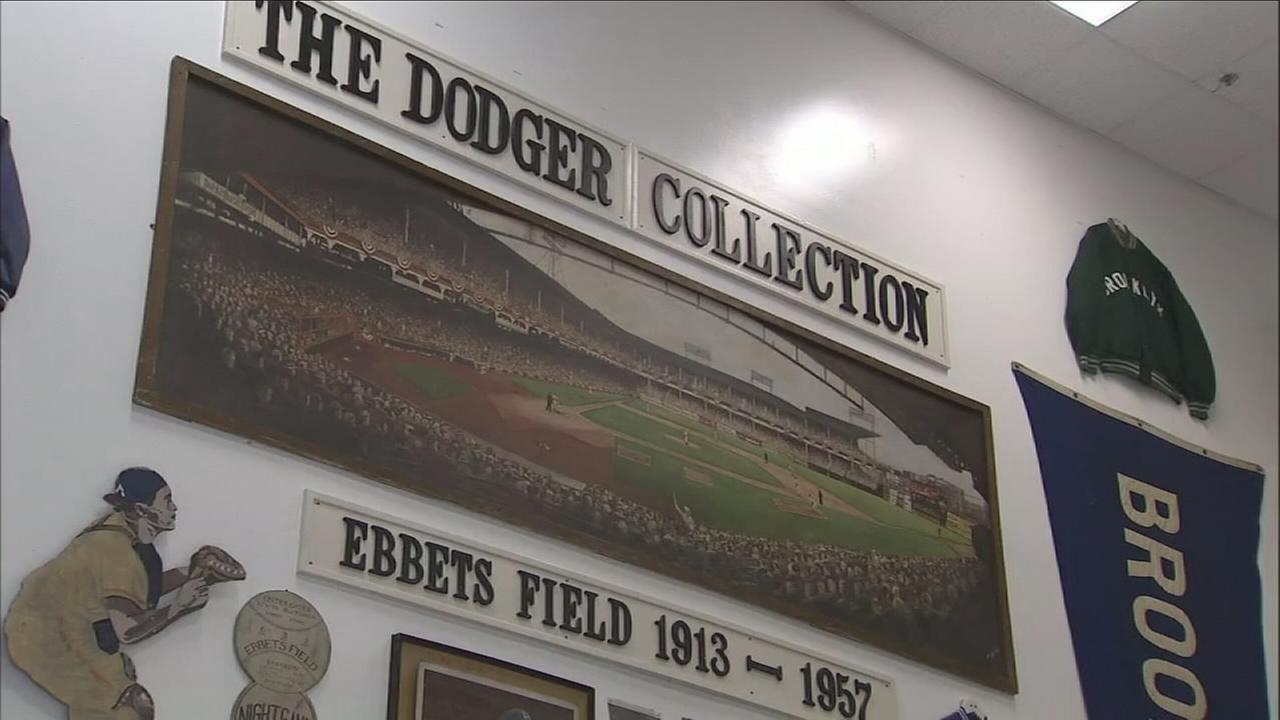 Over the last 30 years, Gary Cypres has been amassing what he believes is the largest collection of Dodgers memorabilia in the world.