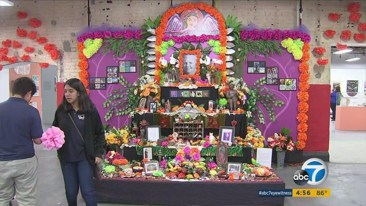 Spectacular costumes are part of a favorite fall holiday in Southern California: Day of the Dead or Dia de los Muertos.