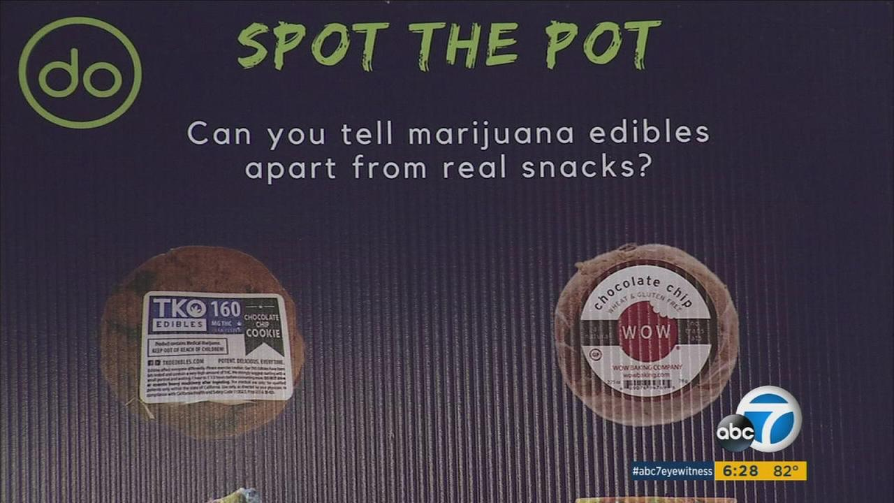 Some marijuana edible products can look similar to other goodies.
