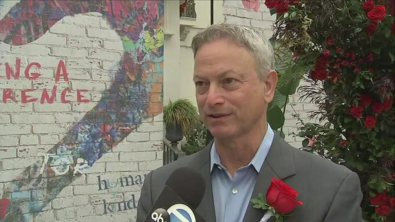 Actor Gary Sinise speaks to ABC7 on Monday, Oct. 30, 2017.