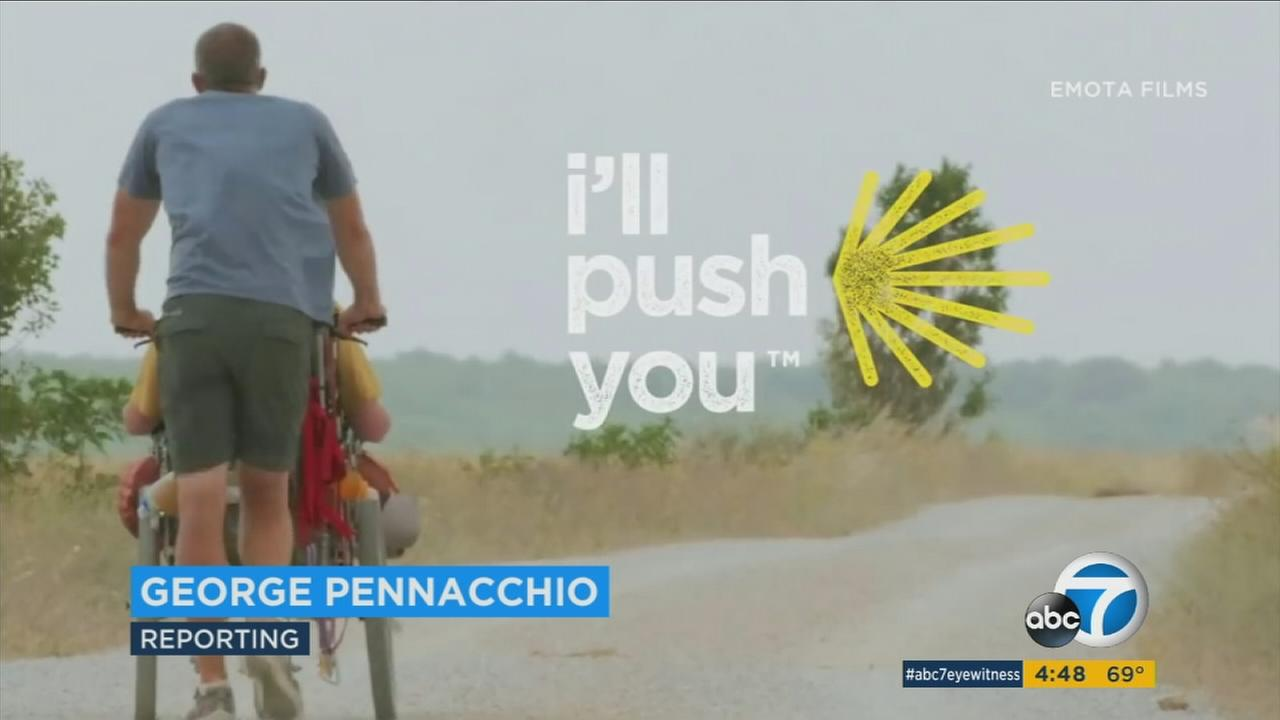 The documentary film Ill Push You tells the story of Justin and Patrick; two lifelong friends who decide to embark on a 500-mile trek from France to Spain.
