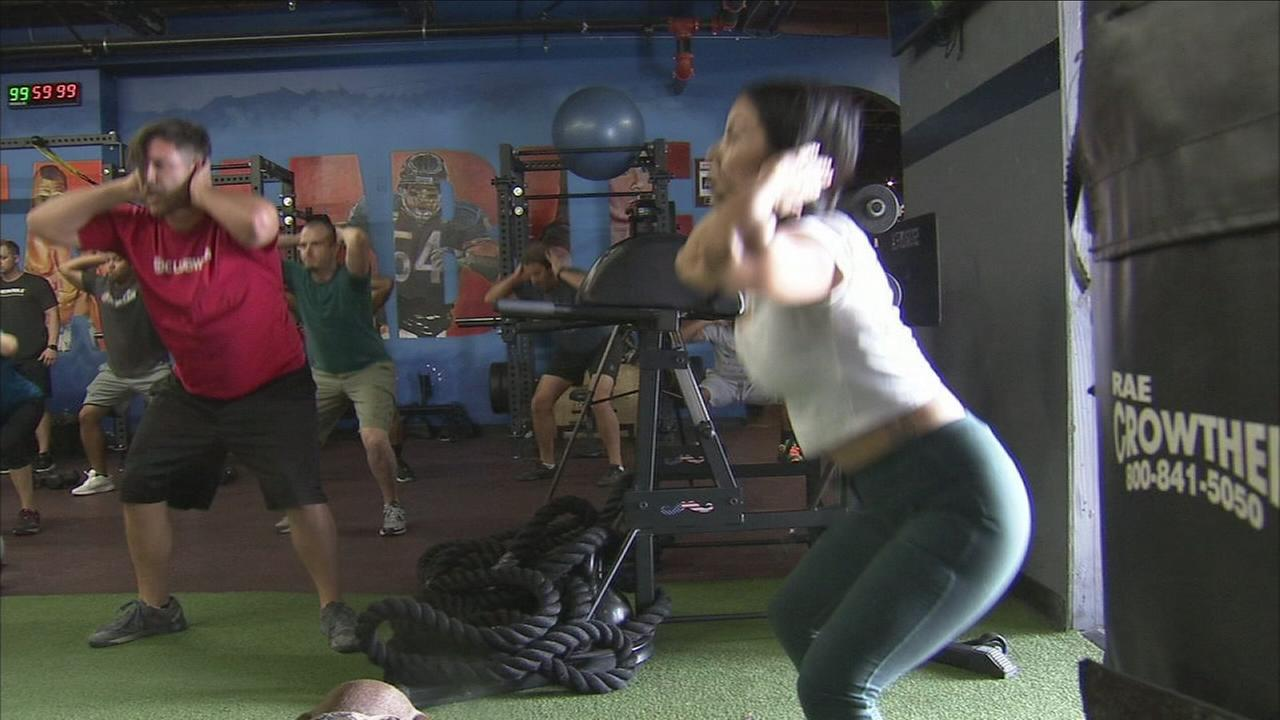 ABC7 salutes MVP workout program for veterans former pro-athletes.
