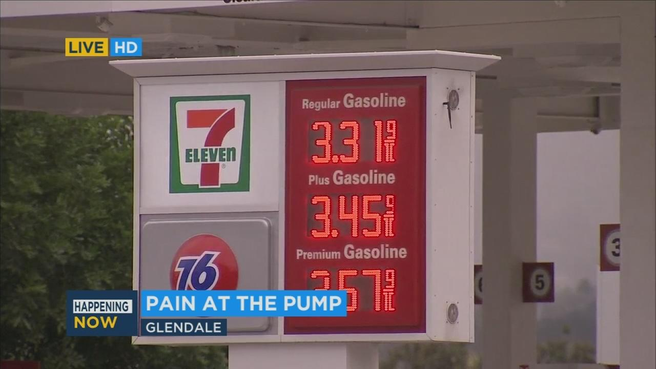 The average price for a gallon of gas in Los Angeles County is up 17 cents compared to last week after a new 12-cent gas tax was tacked on at the pump.