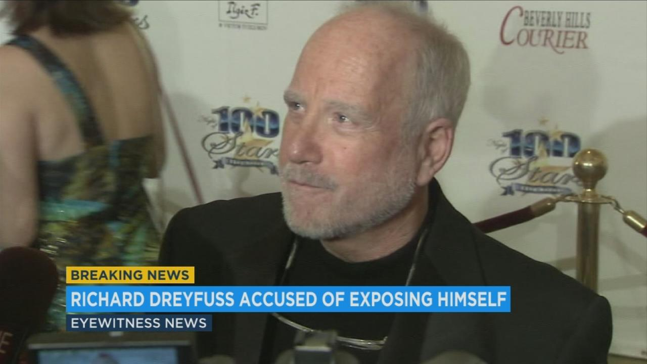 An undated file photo of actor Richard Dreyfuss, accused of exposing himself to an LA-based writer in the mid-80s.