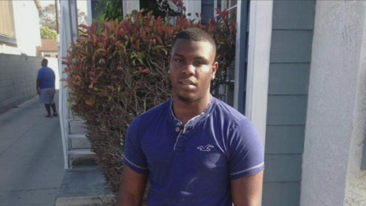 A file photo of Paramount shooting victim 26-year-old Macvell Holmes.