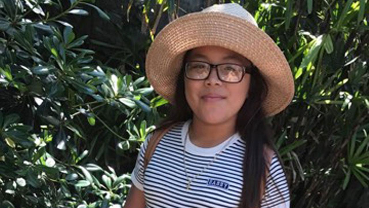 Elektra Yepez, 11, is shown in an undated photo provided by her family.