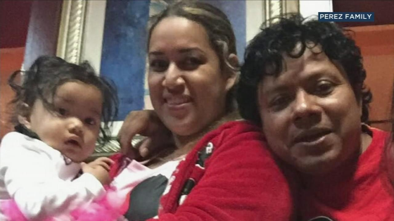 Alex Perez, 42, is shown in an undated photo with his wife, Norma, and their 1-year-old daughter, Sophia.
