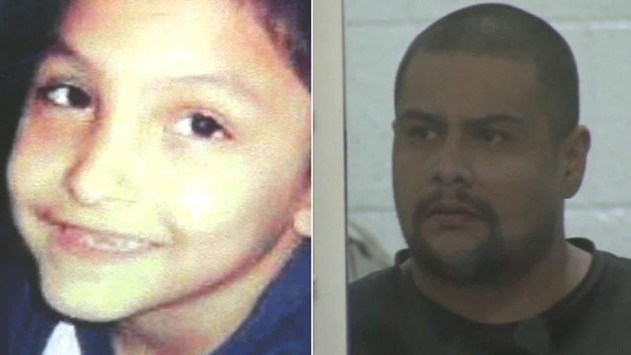 Isauro Aguirre (right) is accused of repeatedly beating Gabriel Fernandez (left) until his death in 2013.