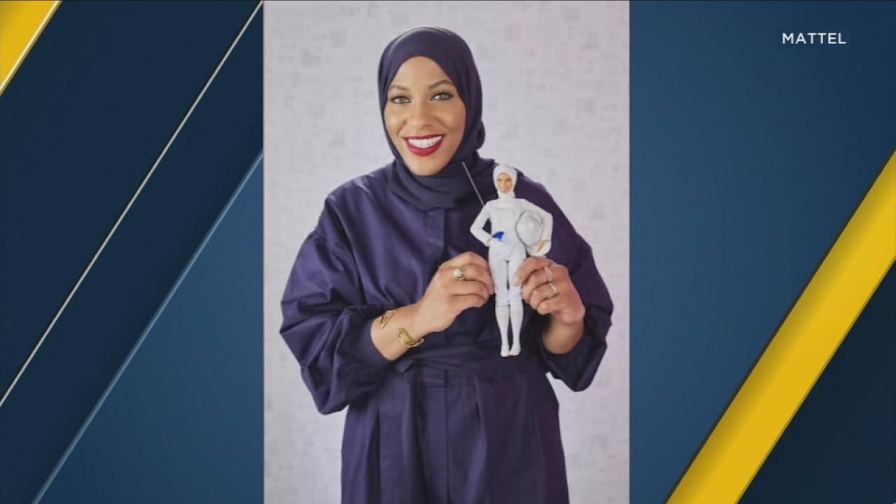 The maker of Barbie says it will sell a doll modeled after Ibtihaj Muhammad, an American fencer who competed in last years Olympics while wearing a hijab.