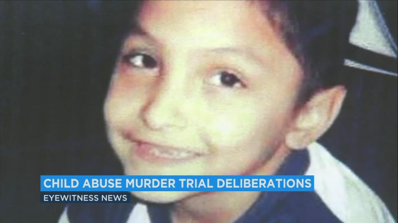 Jurors are reviewing evidence to determine the fate of Isauro Aguirre in the trial over the torture and murder of 8-year-old Gabriel Fernandez.