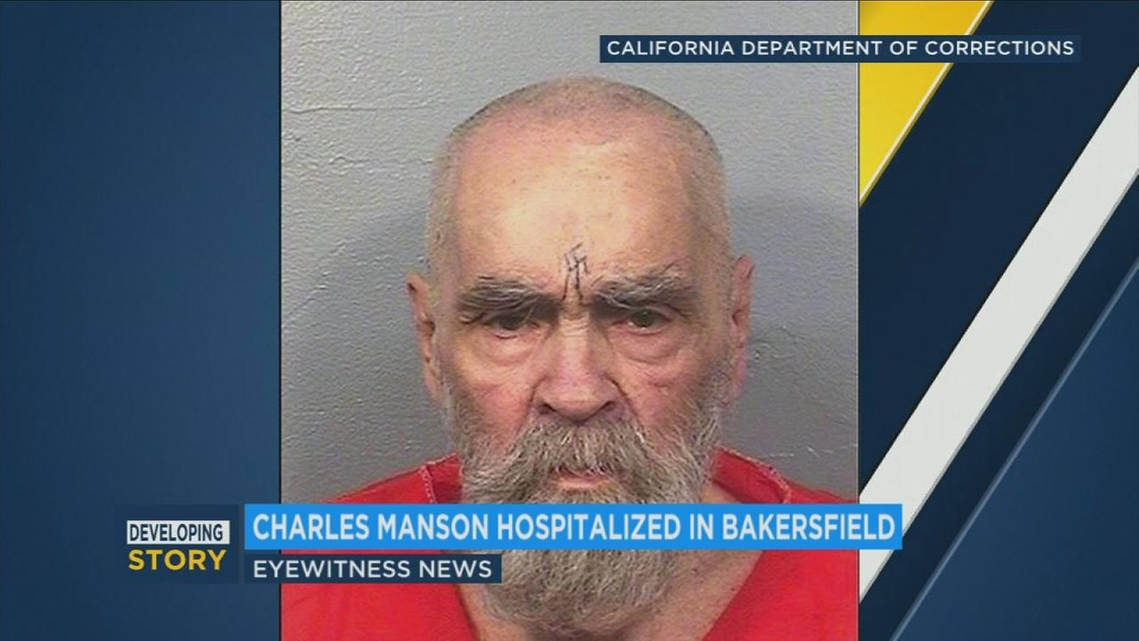 Notorious killer Charles Manson is said to be seriously ill in a Bakersfield hospital.