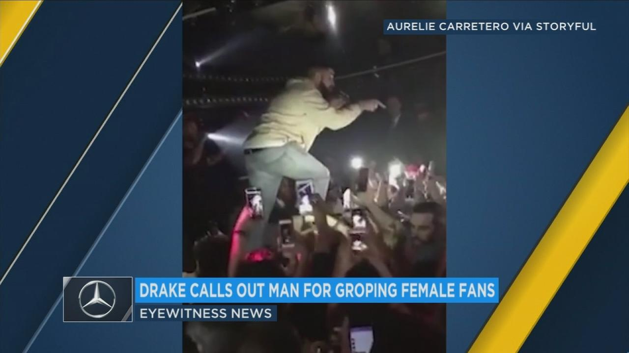 Rapper Drake wont tolerate sexual harassment at his shows, and he made that clear to one man in the audience at a venue in Australia Tuesday.