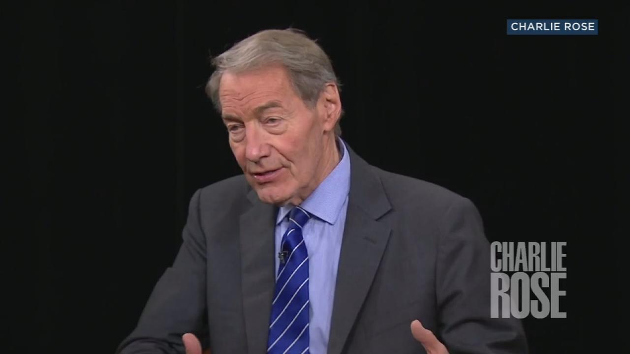 An undated photo of TV journalist Charlie Rose.